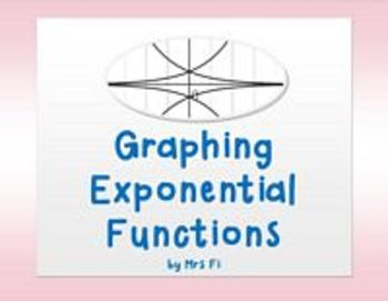 Exponential Functions Lesson 1A Graphing with Technology