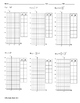 Graphing Exponential Functions ALGEBRA Worksheet