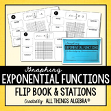Graphing Exponential Functions Flip Book