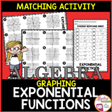 Graphing Exponential Functions Matching Activity