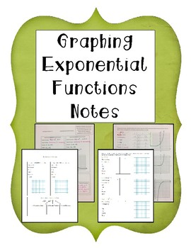 Graphing Exponential Functions Notes