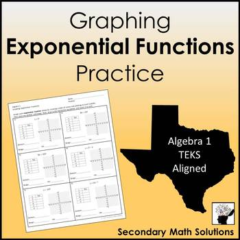 Graphing Exponential Functions Practice  (A9A)