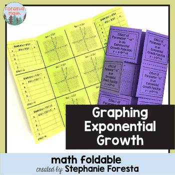Graphing Exponential Growth Foldable