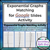 Graphing Exponential Growth and Decay Matching Activity GO