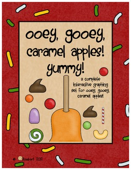 Graphing:  Fall & Caramel Apples!  A Tasty Graphing Set for Fall!