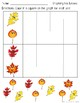 Graphing Fall Leaves