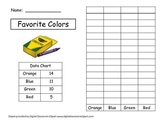 Graphing Favorite Colors with two-digit numbers