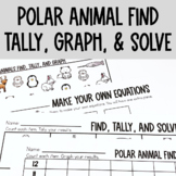 Graphing: Find, Tally and Graph- Polar Animals
