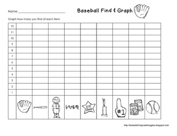 Graphing: Find, Tally and Graph- Baseball