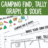Graphing: Find, Tally and Graph- Camping