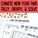Graphing: Find, Tally and Graph- Chinese New Year