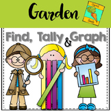 Graphing: Find, Tally and Graph- Garden