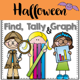 Graphing: Find, Tally and Graph- Halloween