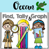 Graphing: Find, Tally and Graph- Ocean