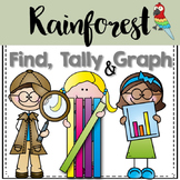 Graphing: Find, Tally and Graph- Rainforest