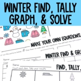 Graphing: Find, Tally and Graph- Winter