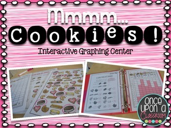 Math Graphing Centers- Mmmm Cookies!