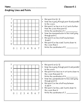 Graphing - Follow Directions