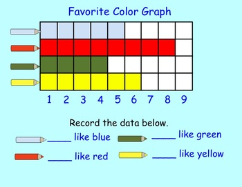 Graphing Freebie for Smartboard