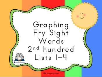 Graphing Fry Sight Words 2nd Hundred