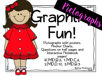 Graphing Fun! PICTOGRAPHS Common Core FREEBIE SAMPLE