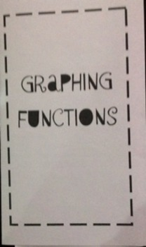 Graphing Function Foldable