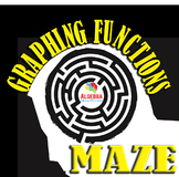 Graphing Functions Fun Activity Maze Game Algebra