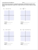 Graphing Functions: Mixed Review