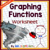Graphing Functions Worksheet (Mixed)