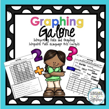 Number Sense: Math Graphs: Graphing Galore Ready to Use K-2