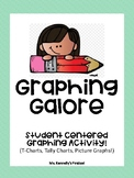 Graphing Galore! Student Centered (T-charts, Tally charts, Picture Graphs!)