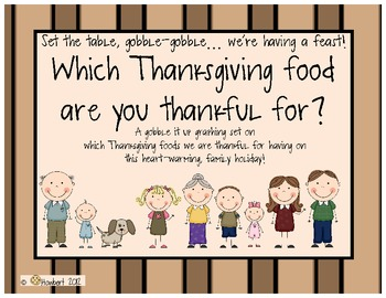 Graphing:  Gobbling Up Thanksgiving Foods We Are Thankful For!