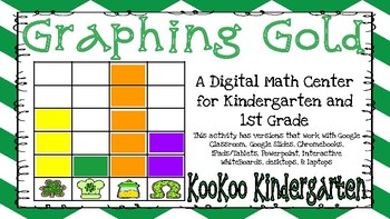 Graphing Gold-A Digital Math Center (Compatible with Google Apps)