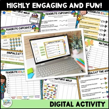 Graphing Google Slides Activity: Bar Graphs and Pictographs