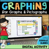 Graphing Activity for Google Classroom: Bar Graphs and Pictographs