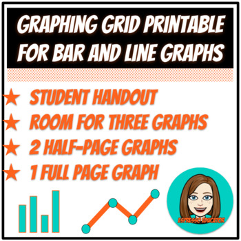 Graphing Grid Printable for Bar and Line Graphs