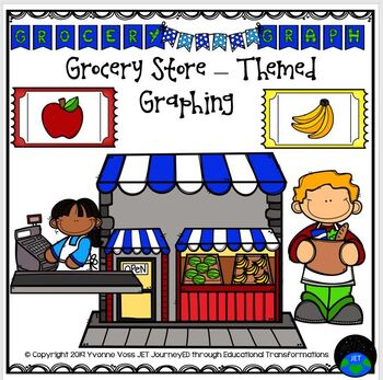 Graphing Grocery Themed