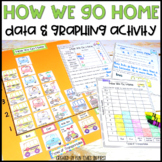 Data and Graphing Activity - How We Go Home