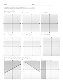 Graphing Inequalites (with two variables)