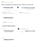 Graphing Inequalities Assessment