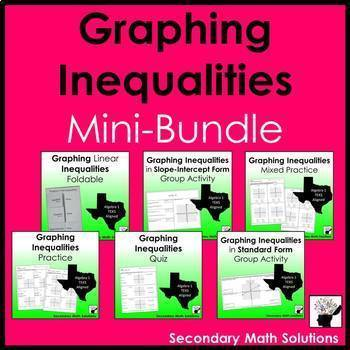 Graphing Inequalities Bundle