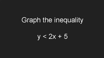 Graphing Inequalities Challenge