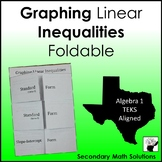 Graphing Inequalities Foldable (A3D)