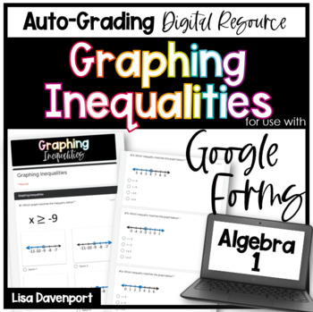 Graphing Inequalities (Google Forms/ Quizzes)