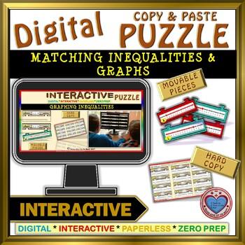 Graphing Inequalities (Google Interactive & Hard Copy)