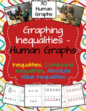 Graphing Inequalities - Human Graphs