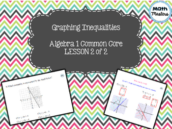 Graphing Inequalities Lesson 2 of 2