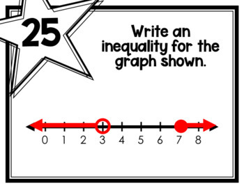 Graphing Inequalities (Task Cards)
