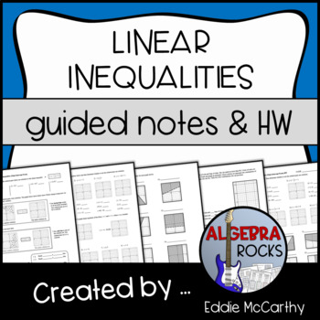Graphing Inequalities on the Coordinate Plane (Guided Notes)