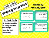 Graphing Inequality Task Cards